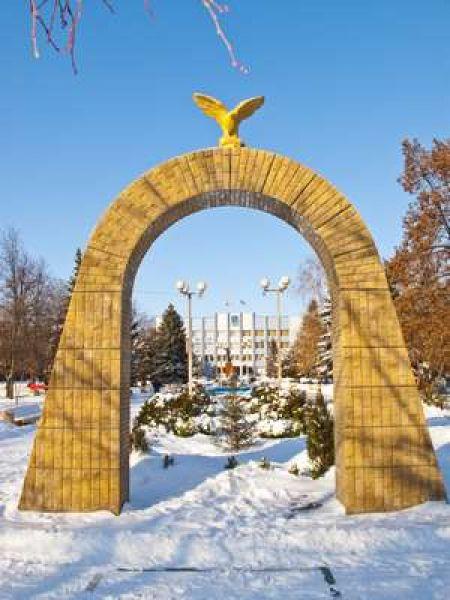 Арка – символ города Батайска.