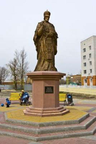Площадь Николая Чудотворца.