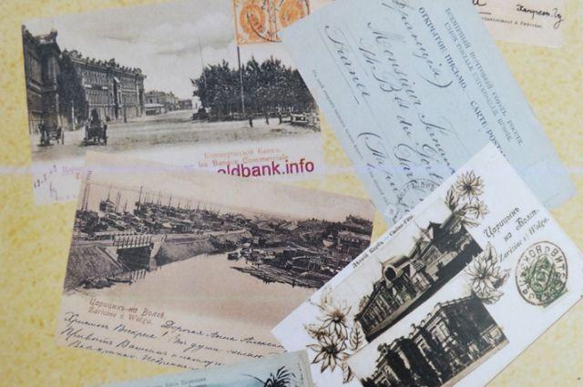 На открытках царицынских издателей можно увидеть самые интересные места города.