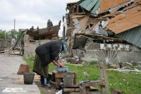 2006 год. Снос цыганского поселка под Калининградом.