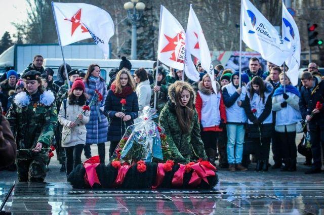ВВолгограде набирают волонтеров для участия в празднествах коДню Победы