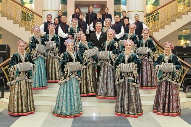Визитная карточка «Сибирского калейдоскопа» - народные танцы.