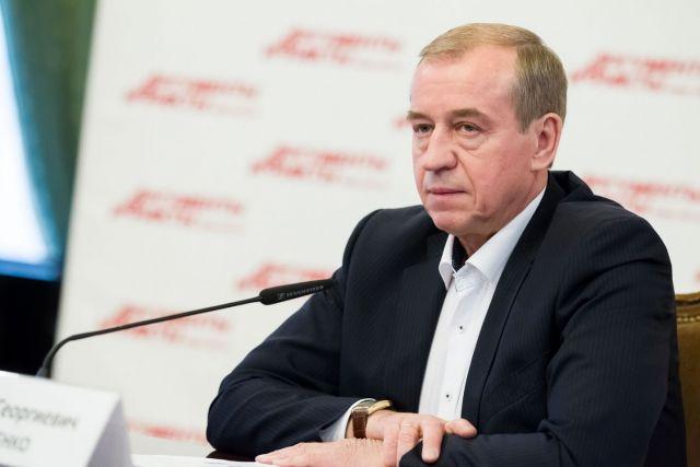 ЛЕВЧЕНКО Сергей Георгиевич, губернатор Иркутской области