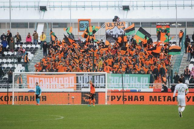 Футболисты «Урала» обыграли «Амкар» сминимальным счетом