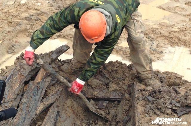 Останки более 50 человек найдены на стройплощадке дома в Калининграде.
