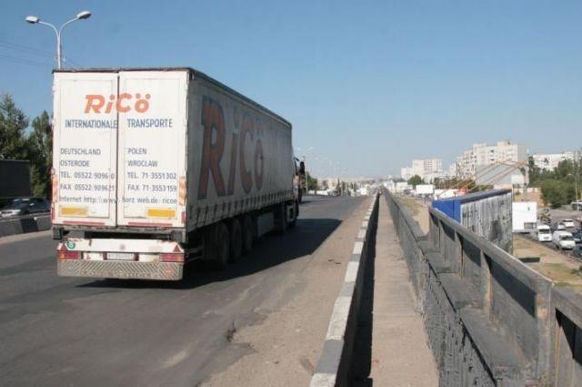 ВБрянской области из-за паводка ограничат движение большегрузов