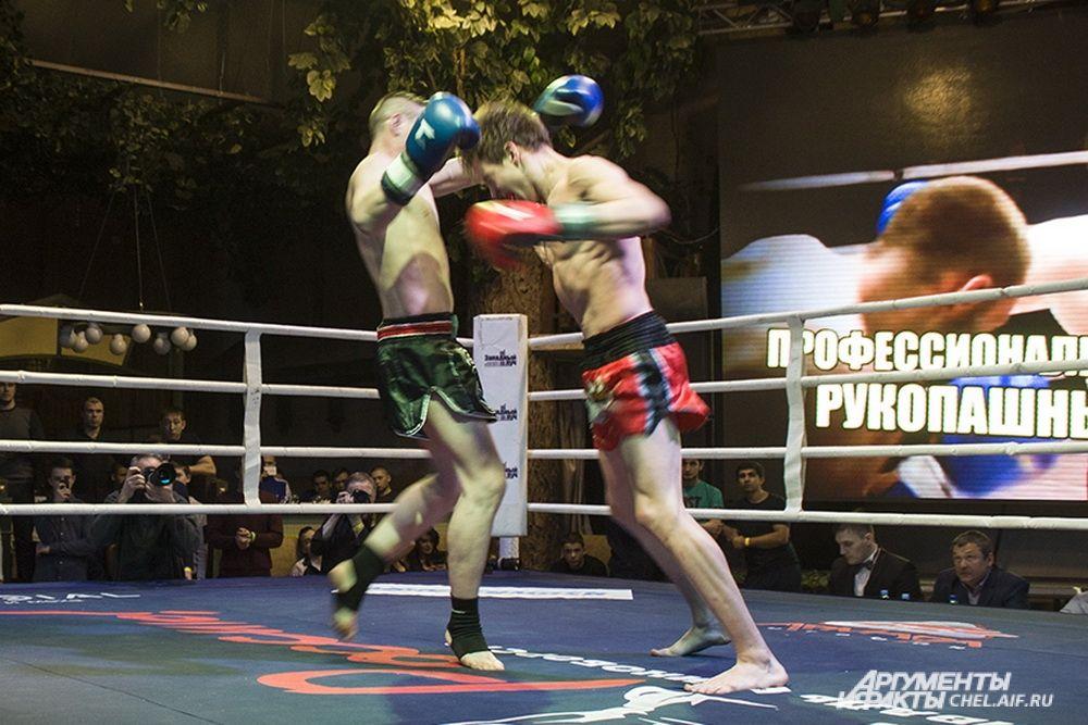 Последний бой стал самым коротким. Через несколько минут точным ударом в печень Скориков отправил Курманбаева в нокаут.