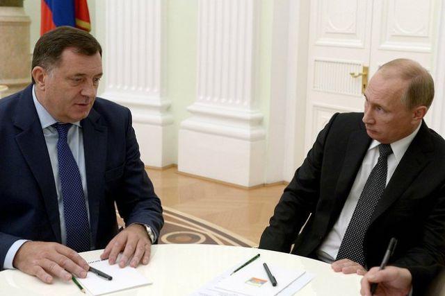 Президент Республики Сербской объявил обугрозах США в собственный адрес