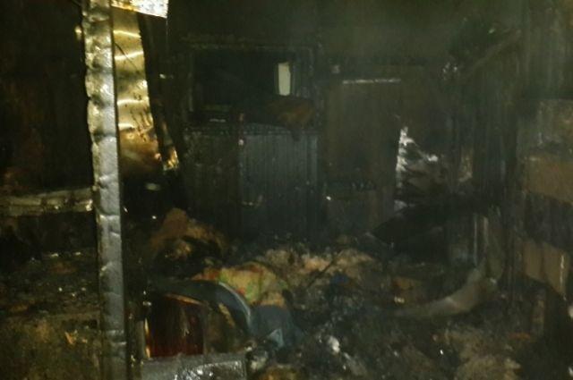 ВТутаевском районе впожаре вчастной бане умер 54-летний мужчина