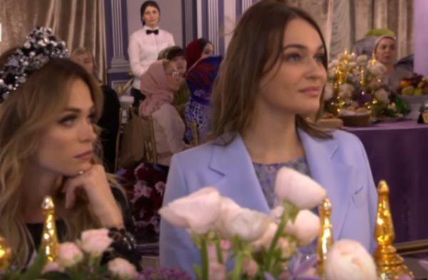 Российские звезды съехались в столицу Чечни, чтобы посмотреть первый модный показ дочери Рамзана Кадырова.