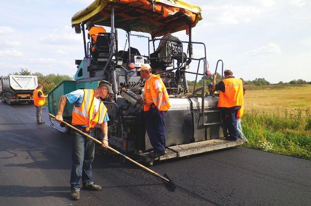 В Сети набирает популярность видео ремонта дороги в Советске.