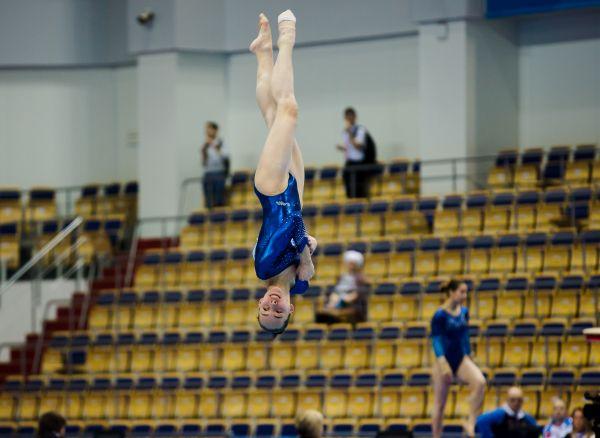 Попасть на соревнования в центр гимнастики можно свободно.