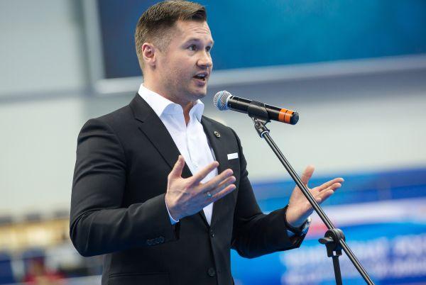 Четырехкратный олимпийский чемпион Алексей Немов.
