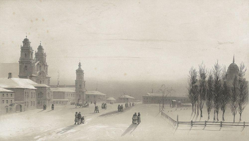 Высокий Рынок, 1840 год.