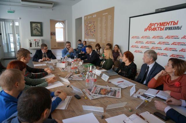 На круглом столе обсудили роль предприятий в экопросвещении