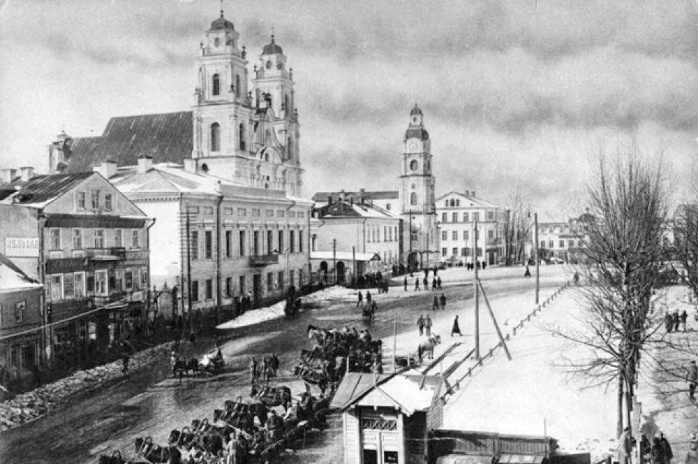 Площадь Свободы, 1914-1918 год.