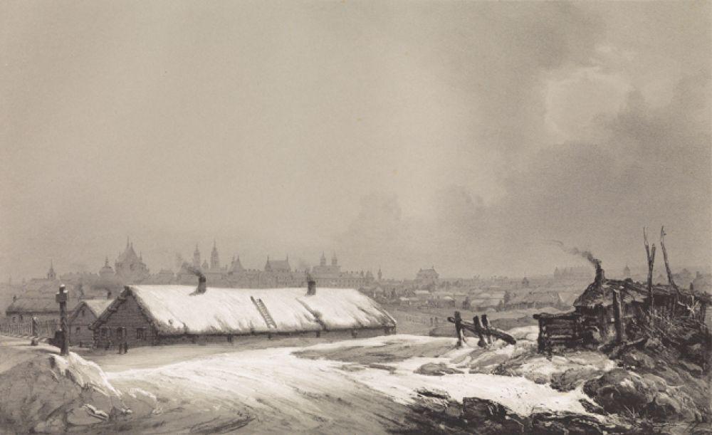 Минск, 1840 год.