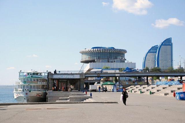 ВВолгограде начинается масштабная реконструкция Центральной набережной врайоне речпорта