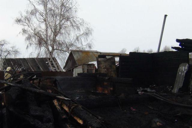 Впроцессе пожара погибли трое маленьких детей— катастрофа под Ульяновском
