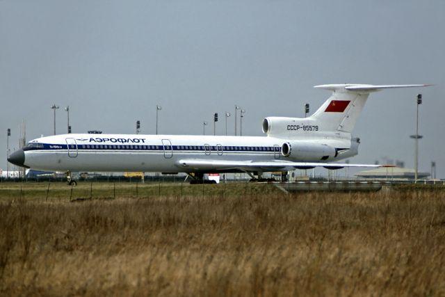 Ту-154Б-2 компании Аэрофлот, аналогичный захваченному.