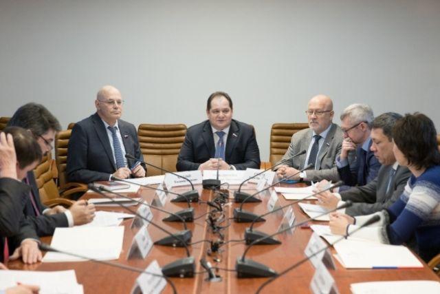 Ростислав Гольдштейн провел заседание Группы по сотрудничеству СФ с Кнессетом Государства Израиль