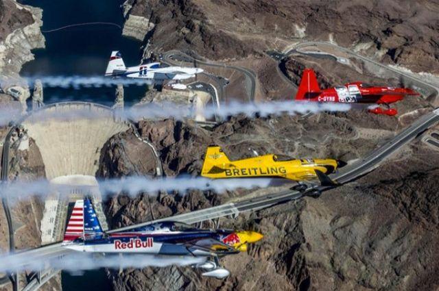 Летом 2017-ого года Казань примет состязания «Red Bull Air Race»