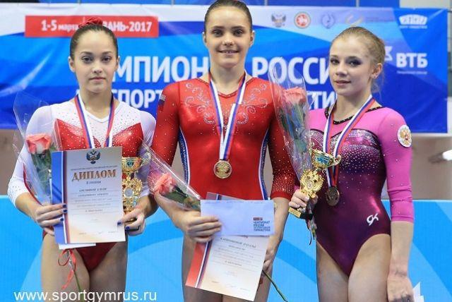 Наталья Капитонова стала первой в истории спортивной гимнастики Пензенской области чемпионкой России в многоборье.
