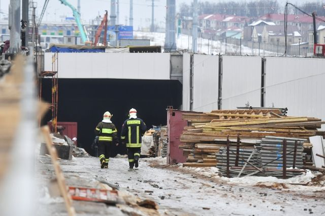 Один человек умер при обрушении тоннеля в новейшей столице России