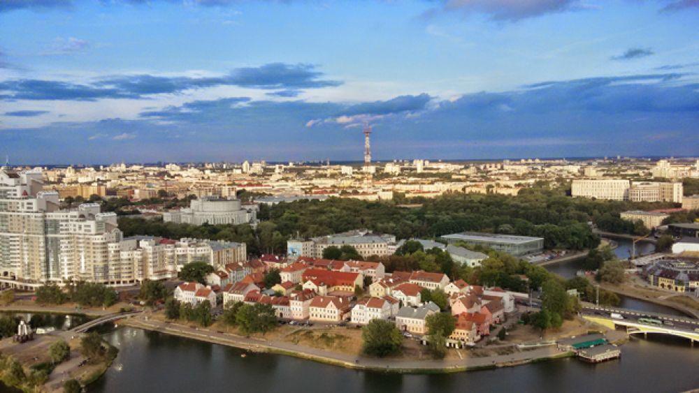 Современный Минск, 2015 год.