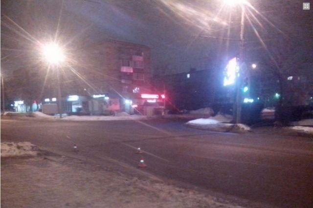 В Оренбурге разыскивается водитель, который сбил мужчину и уехал после ДТП