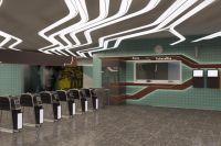 Обновленная станция столичного метрополитена «Левобережная»
