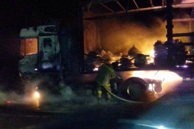 Впожаре вАпастовском районе Татарстана умер человек
