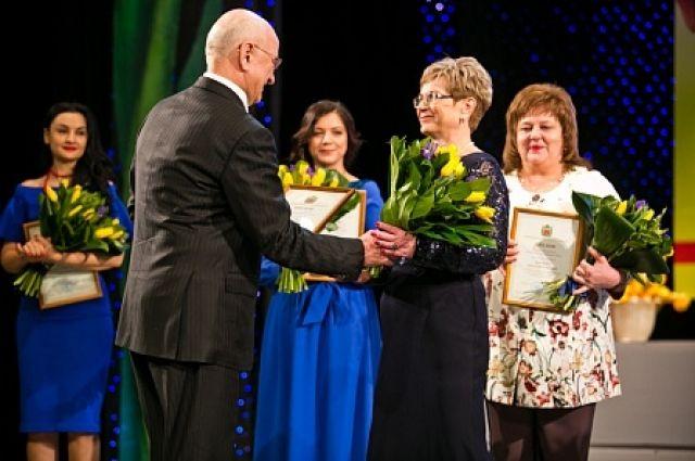 Восемь оренбурженок получили премию «Женщина Оренбуржья»