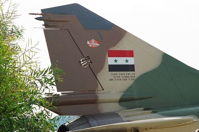 Сирийский пилот объявил , что его МиГ-21 был сбит
