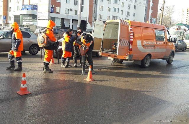 МУП «Пензадормост» ввыходной день должен выполнить наибольший объем работы