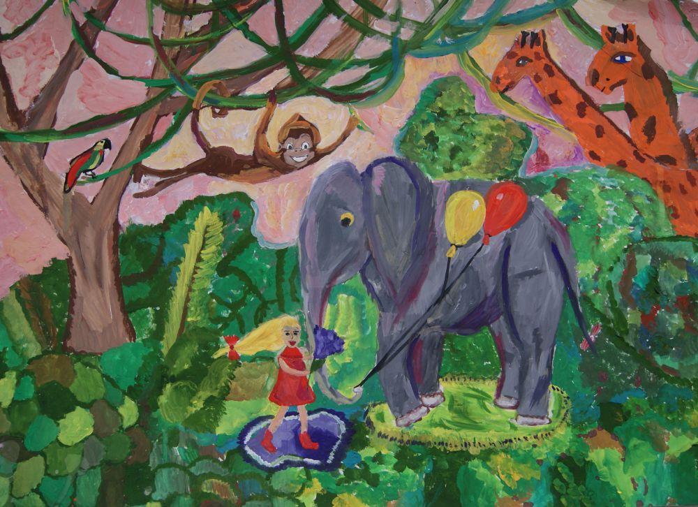 «В гостях у слона»