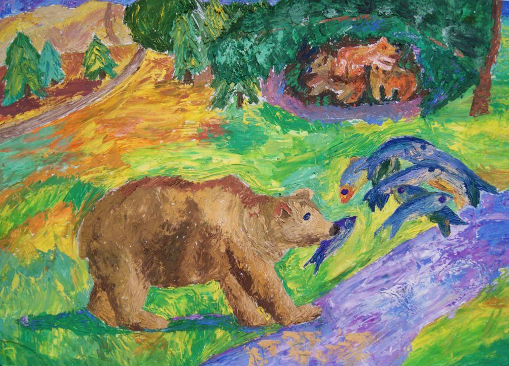 «Медвежья рыбалка»