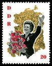 Почтовая марка ГДР, 1963 год.