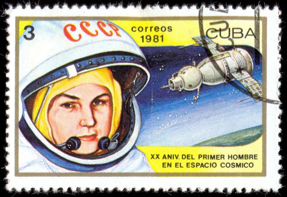 Почтовая марка Кубы, 1981 год.