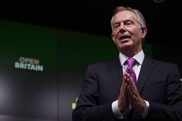 Тони Блэр втайне сталкивался сТрампом вБелом доме