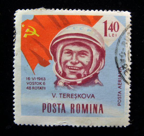 Почтовая марка Румынии, 1963 год.