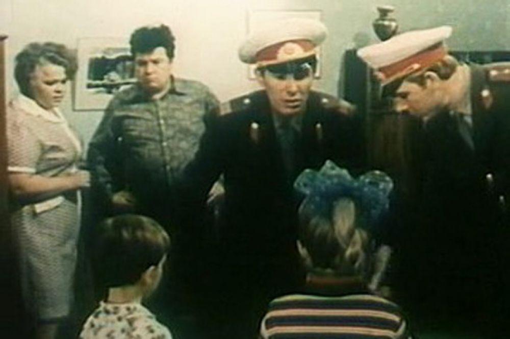 Актер Александр Кузнецов в фильме «Кыш иДвапортфеля» (1974)