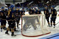 На своем льду пензенцы дважды разгромили белгородский клуб - 3:0 и 7:1.