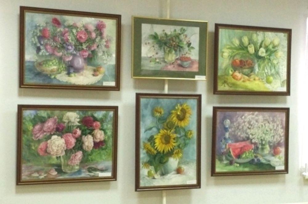 В Волгодонске Елену Лезину хорошо знают: она здесь жила и преподавала в художественной школе.