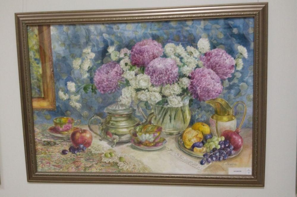 Ее полотна украшают частные коллекции российских и зарубежных почитателей живописи.