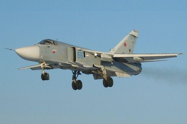 Минобороны показало видео воздушной дозаправки бомбардировщика Су