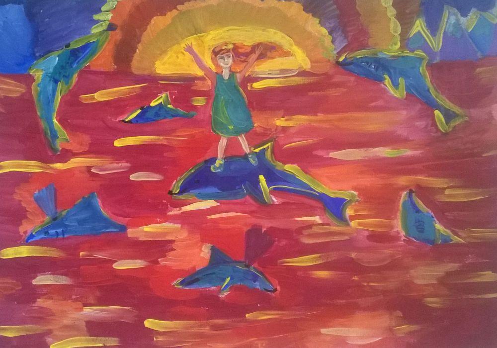 «Мои друзья – дельфины»