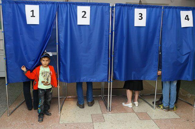 Выборы в Иркутской области.