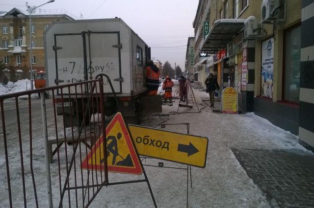 В столице Кузбасса начали ремонтировать дороги.
