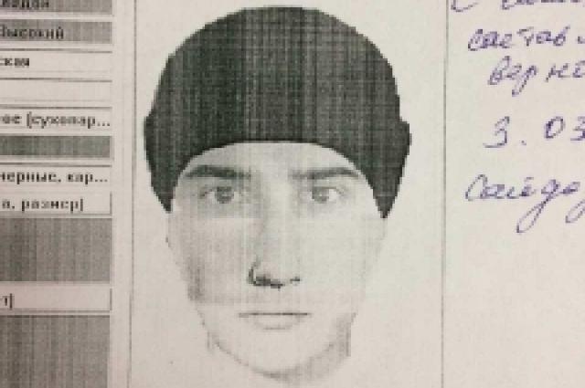 ВКрасноярске разыскивается подозреваемый втяжком правонарушении мужчина